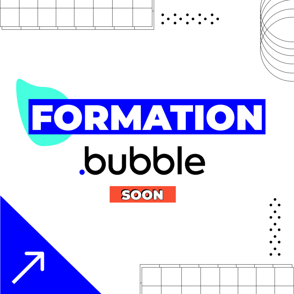 Affiche formation Bubble